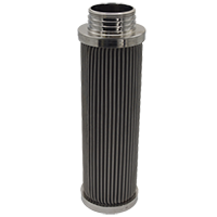 Stainless screen filter element