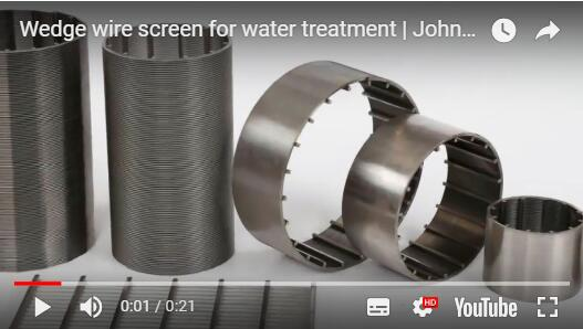 wedge wire screen video