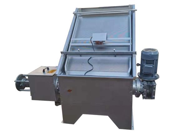 slant screen solid liquid separator